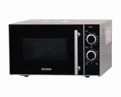 Микроволновая печь SEVERIN MW 7875, серебро/черные цвета