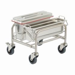 Тележка для уборки Clino® CR mini EM-GMP1, нержавеющая сталь