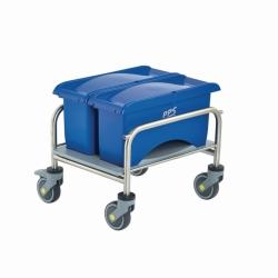 Тележка для уборки Clino® CR mini EM-CR1, нержавеющая сталь
