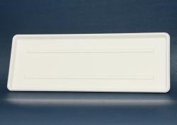 Слив Tray для дренажных стеллажей, PE покрытием проволоки