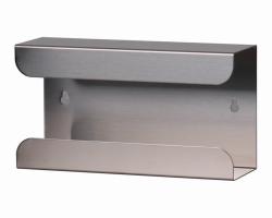 Диспенсер для перчаток, рержавеющая сталь, 80 мм, 730 г