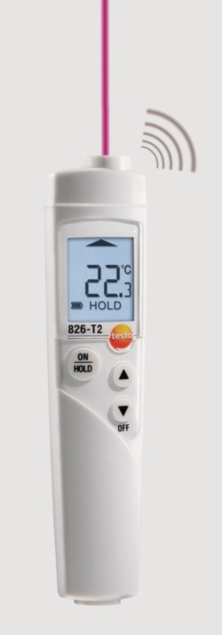 Инфракрасные термометры серии testo 826, 826-T4, -50...230 °C