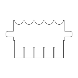 Аксессуары для Electrophoresis Танк OmniPage Мини, 1,00 мм