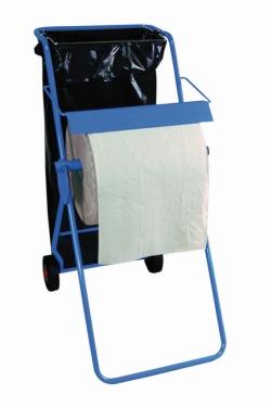 Напольная подставка, Настенный кронштейн с держателем мусорника для рулонов до 42 см шириной