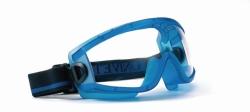 LLG-Панорамные защитные очки, синий, прозрачные, поликарбонат, 2C-1.2