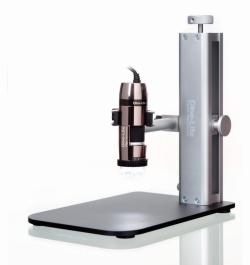 Аксессуары для USB-ручных микроскопов, Настольная подставка с быстросъемным механизмом и раздвижной штангой