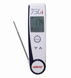 Комбинированный ИК и проникающий термометр TLC 750i