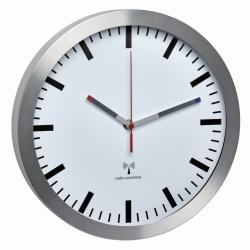 Радиоуготовёные настенные часы, шкала без чисел