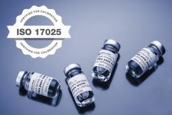 Аксессуары для плотномеров DMA 501, Калибровка согласно ISO 17025