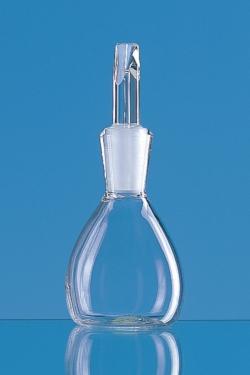 Бутылки плотности, Боросиликатное стекло 3.3., некалиброванное, 50 мл