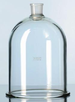 Стеклянный колпак с плоским фланцем, DURAN®, 34/35, 350 мм