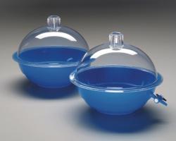Эксикатор Nalgene™, полихлоропрен, голубой, Тип 5309, 5310, 5310, Эксикатор с краном (не автоклавируемый)