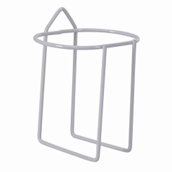 Аксессуары для бутылки для промывки глаз BARIKOS, Настенное крепление для одного флакона из стальной проволоки с покрытием из пластика
