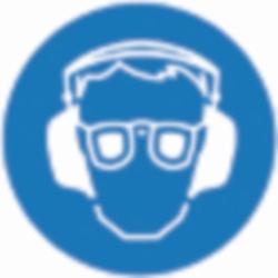 PSA Безопасные боксы для хранения SecuBox Mini/Midi/Maxi, Mini, синий, Защита глаз + ушей, синий, Mini