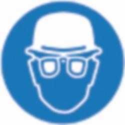 PSA Безопасные боксы для хранения SecuBox Mini/Midi/Maxi, Maxi, синий, для средств защиты головы и глаз, синий, Maxi