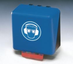 PSA Безопасные боксы для хранения SecuBox Mini/Midi/Maxi, Maxi, синий, для средств защиты глаз и органов слуха, синий, Maxi