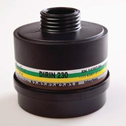 Дыхательные фильтры для масок polimask 330 и C 607, Многоцелевой комбинированный фильтр, DIRIN 530 A2B2E2K2 Hg NO 20CO-P3R D