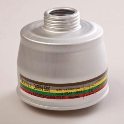 Дыхательные фильтры для масок polimask 330 и C 607, DIRIN 500 A2B2E2K2-Hg-P3R D, Многоцелевой комбинированный фильтр