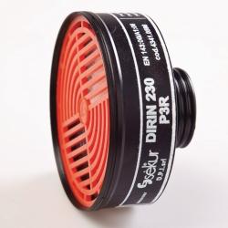 Дыхательные фильтры для масок polimask 330 и C 607, DIRIN 230 P3R D, Винтовой фильтр частиц