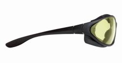 Очки защитные SPERIAN SP1000, Черная оправа, желтые нецарапаемые незапотеваемые стекла HDL