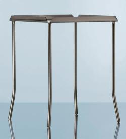 Штатив с четырьмя ножками, Хромоникелевая сталь, 175 мм, 175 мм
