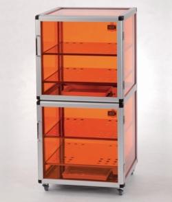 Эксикаторы Maxi 1-Black/Protect и Maxi 2-Black/Protect, ПММА, 34 кг, 156* л