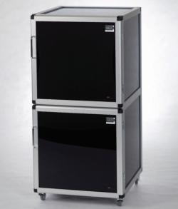 Эксикаторы Maxi 1-Black/Protect и Maxi 2-Black/Protect, ПММА, 34 кг, 156* л, 495 x 540 x 500* мм, 560 x 580 x 1150 мм, Maxi 2-Black