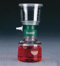 Системы стерильной фильтрации, мембрана из нитрата целлюлозы, без, 450, 500/500 мл, 0,8 мкм, 75 мм