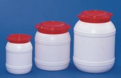 Кеги с широкой горловиной, полиэтиленовые, одобрено ООН, без, 6,4 л