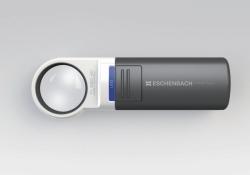 Карманная лупа с освещением, mobilux® LED, Ш 35 мм, 7x/28,0 dpt