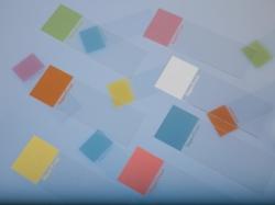 Предметные стекла Superfrost®, сиреневый, шлифованная 45°