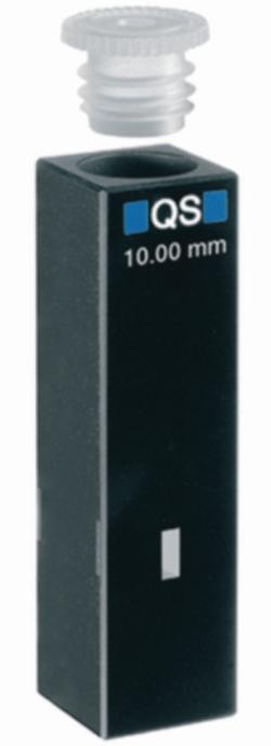 Ультрамикро кюветы для измерения поглощения, УФ-диапазон, кварцевое стекло High Performance, B, 5 мкл