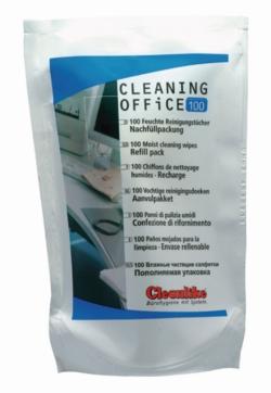 Салфетки чистящие Cleaning Office, со спиртом