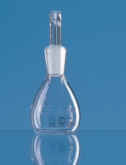 Пикнометры, Blaubrand®, боросиликатное стекло 3.3, 50 мл