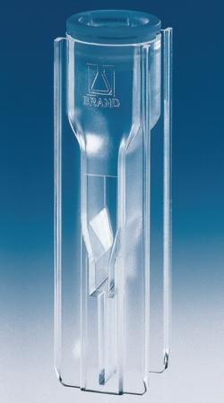 Пластиковые одноразовые кюветы для УФ / Видимого диапазона, 10,0 мм, 70 - 550 мкл