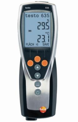 Высокотоктометровый термогигрометр testo 635