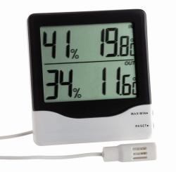 Цифровой термогигрометр для измерения в помещениях и на улице