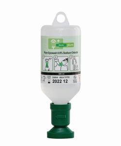 Жидкость для промывания глаз (0,9 % NaCl), стерильно, Запасной флакон с физ.раствором 500 мл