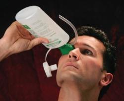 Бутылка для промывания глаз с раковиной для глаз