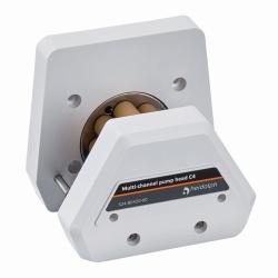 Многоканальные насосы для приводов насосов Hei-FLOW, Средняя кассета, Скорость потока 0,29 ... 25,2 мл/мин