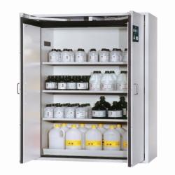 Шкафы для безопасного хранения S-CLASSIC-90 с двустворчатыми дверями, Шкаф для безопасного хранения S90.196.120.WDAS, светло-серый*