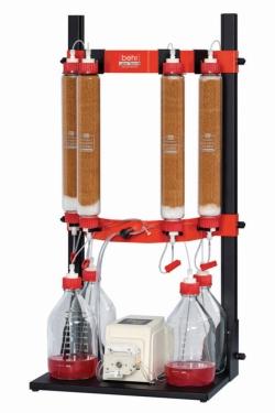 Колоночные устройства behrotest® для вымывания веществ из почв, QW-SEB, Кварцевая вата для колоночных устройств