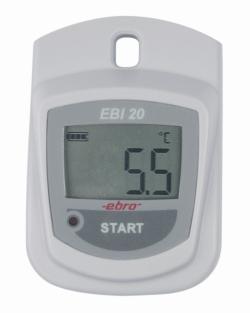 Лоджеры EBI 20-T1 / EBI 20-TE1, IP67, Стартовый набор(Лоджер температтуры, ПО, Интерфейс), 3 V Lithium (CR2450), EBI 20-T1-Set