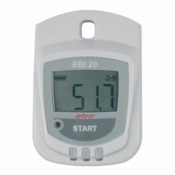 Температуры / влажности регистратор данных EBI 20-TH1, Стартовый набор (Лоджер температуры и влажности, ПО, интерфейс), EBI 20-TH1-Set, 3 V Lithium