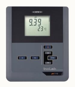 Лабораторный pH-метр inoLab® pH 7110, pH 7110 SET 4, Прибор, включая SenTix© 81, буферный раствор 4,7/10,01 и 3 моль/ля KCl