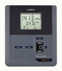 Лабораторный кондуктометр inoLab® Cond 7110, Cond 7110 Set 1, Прибор с датчиком TetraCon® 325 и принадлежностями