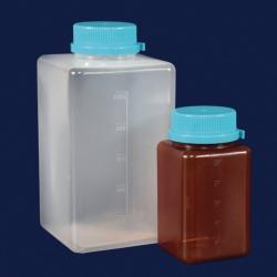 Бутылки для отбора проб воды, ПП, стерильные, 500 мл, янтарные, стерильные, с тиосульфатом натрия