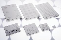 Многоместные магнитные мешалки MIXdrive с внешним управлением для водяных бань и печей, 48 x 48 x 18 мм, 1200 об/мин, 100 1/min
