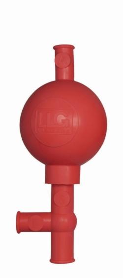 Груши для пипеток LLG, резиновые, красные, C, Груши для пипеток LLG,