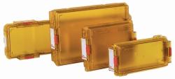 Контейнеры для стерилизации polySteribox® с постоянными фильтрами, polySteribox® M, 184 x 144 x 59 мм